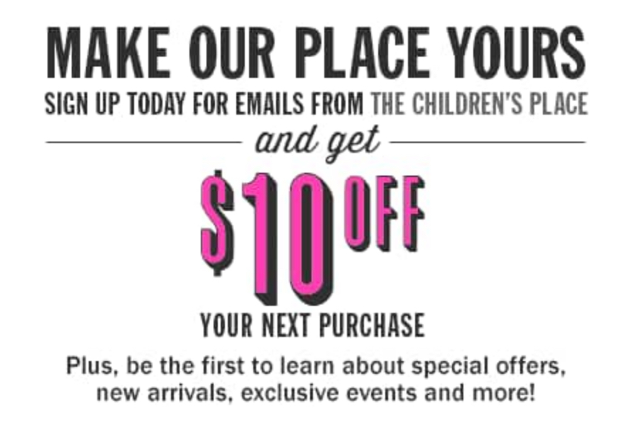 <p>Sign Up for Emails &#038; Get $10 off</p>