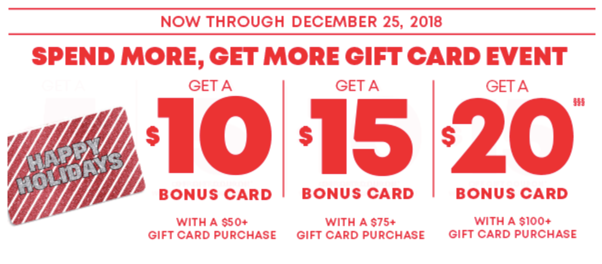 <p>It's Our Gift Card Event!</p>
