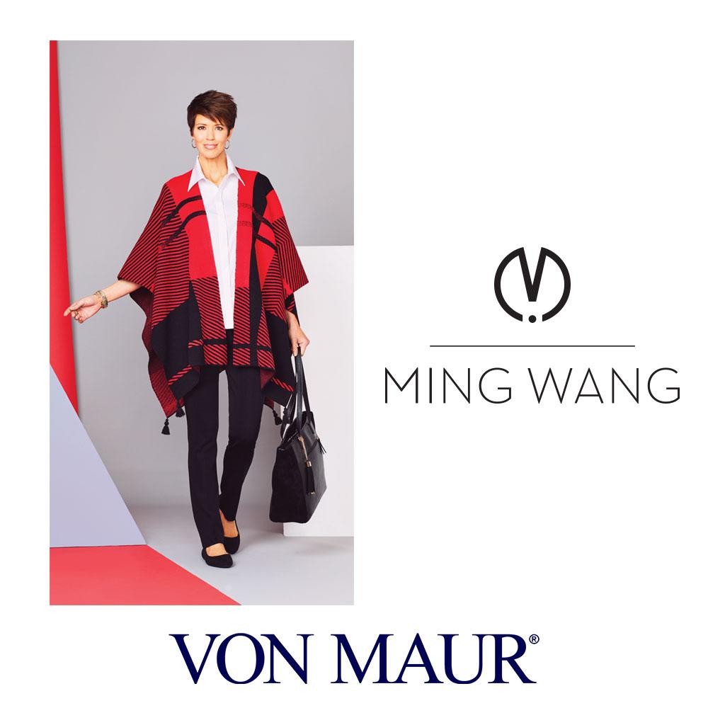 <p>Ming Wang Hope Wrap Giveback</p>