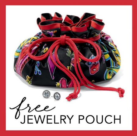 Brighton Love Scribble Jewelry Pouch Gift With Purchase