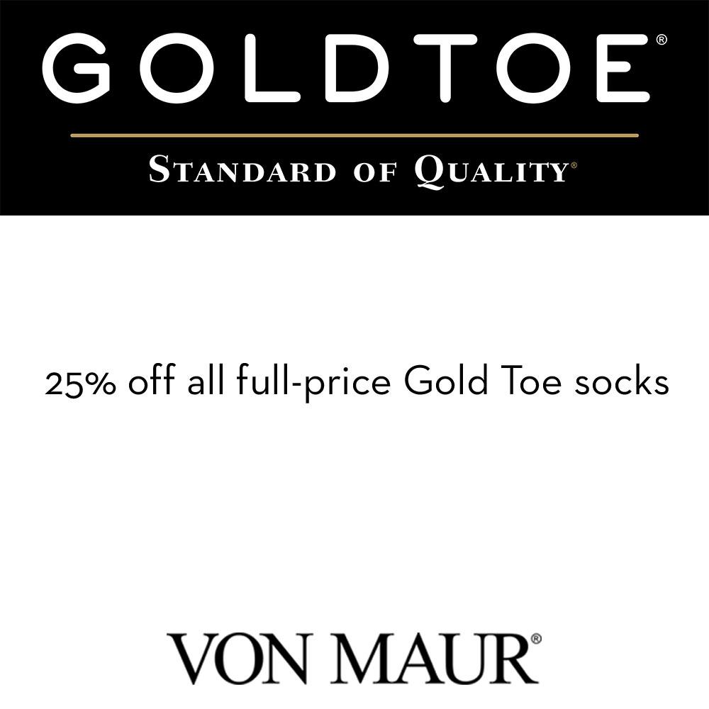Save on Gold Toe Socks