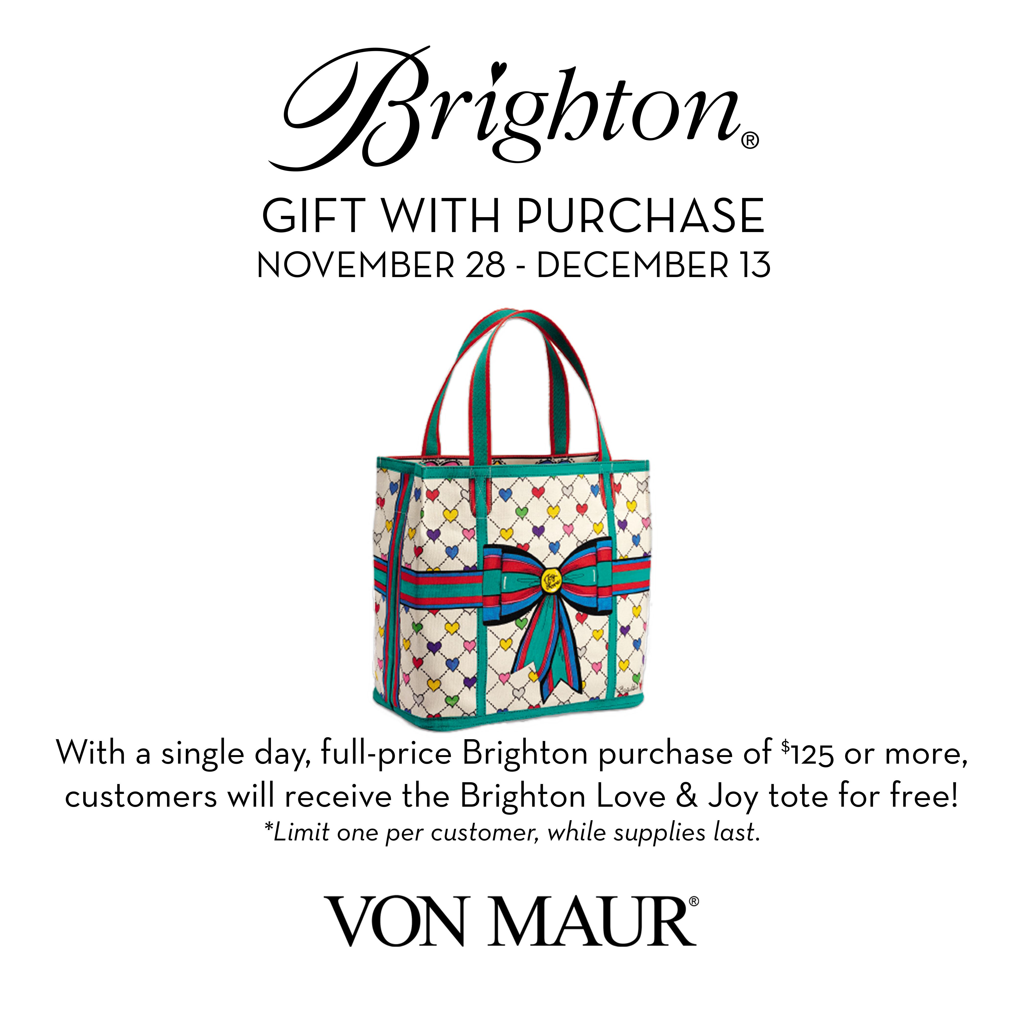 Get a Free Brighton Love & Joy Tote